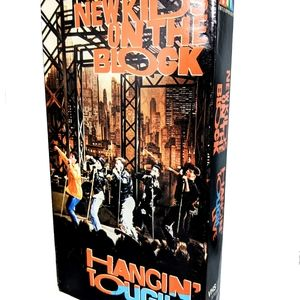 New Kids On the Block VHS Hanging Tough Concert